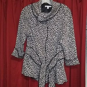 NWOT Sarah Spencer dress top/jacket